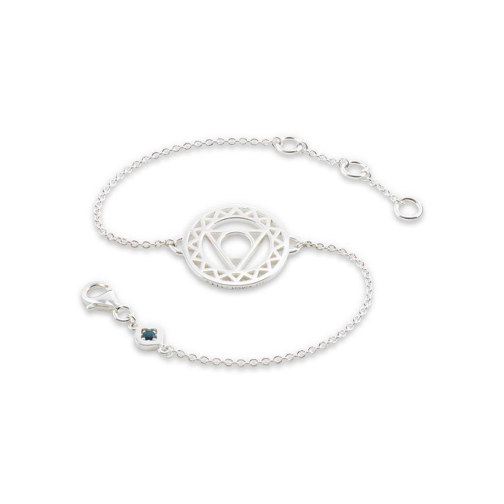 デイジーロンドン Daisy London レディース ジュエリー・アクセサリー ブレスレット【Throat Chakra Chain Bracelet】silver