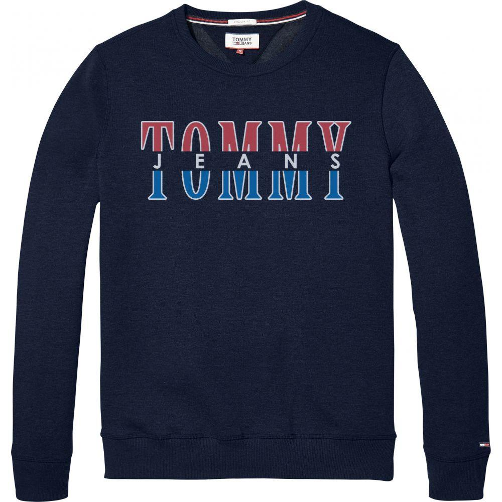 トミー ヒルフィガー Tommy Hilfiger メンズ トップス スウェット・トレーナー【Tommy Jeans Essential Graphic Sweatshirt】navy