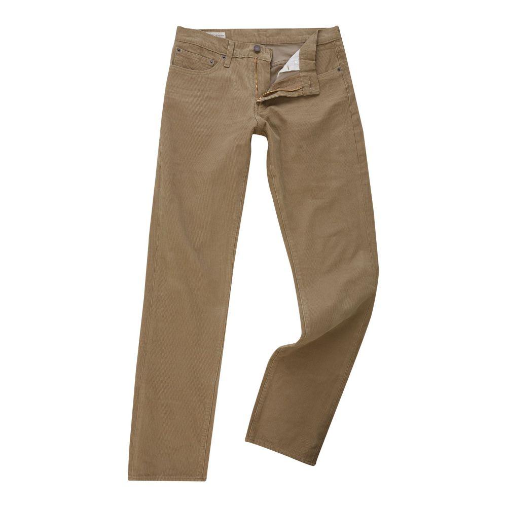 リーバイス Levi's メンズ ボトムス・パンツ ジーンズ・デニム【511 Slim Fit Lead Gray Warp Cord Jeans】camel