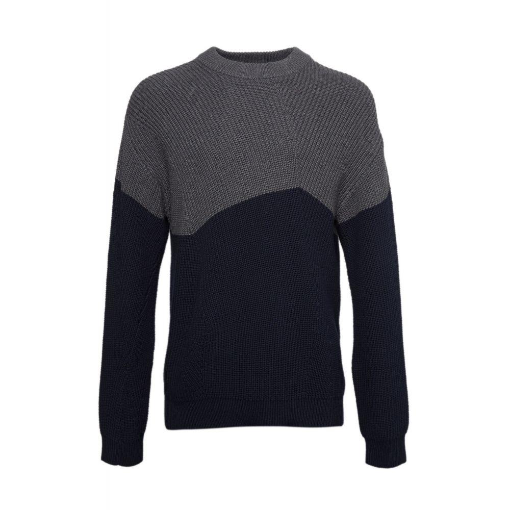 フレンチコネクション French Connection メンズ トップス【2/20`s Irregular Stitch Jumper】grey