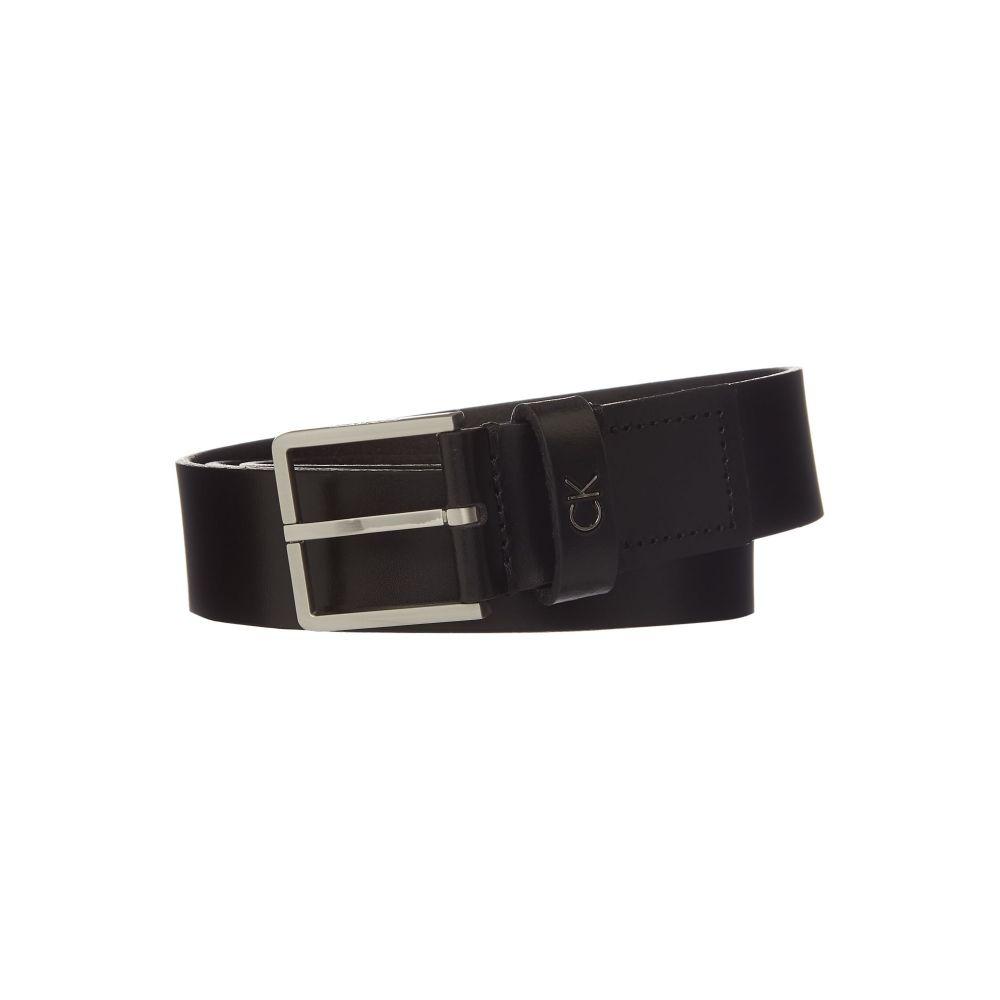 カルバンクライン Calvin Klein メンズ ベルト【Large Ck Logo Belt】black