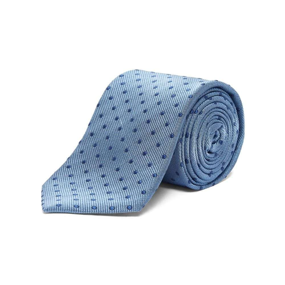 チェスター バリー Chester Barrie メンズ ネクタイ【Coloured Polka Dot】blue