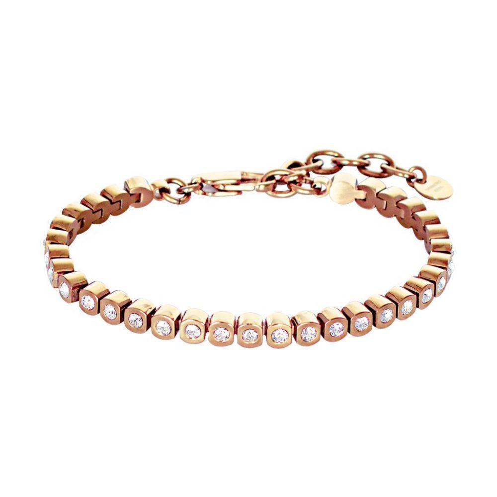 デューバーグキャーン Dyrberg Kern レディース ジュエリー・アクセサリー ブレスレット【Dk334741 Cony Rg Crystal Bracelet】rose gold