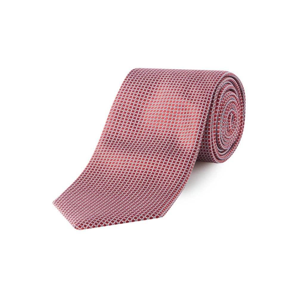 ヒューゴ ボス Hugo Boss メンズ ネクタイ【Structured Dot Tie】red