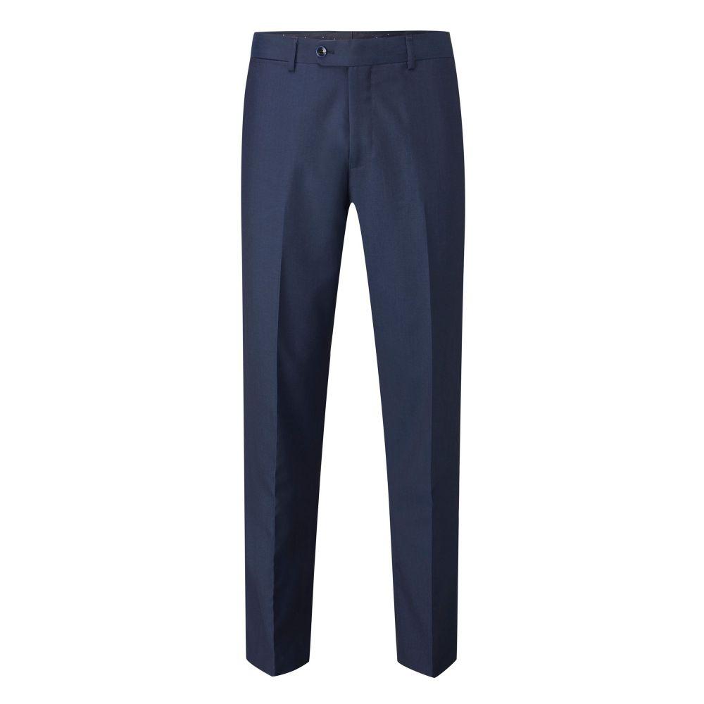 スコープス Skopes メンズ ボトムス・パンツ スラックス【Camoglli Wool Blend Suit Trouser】petrol