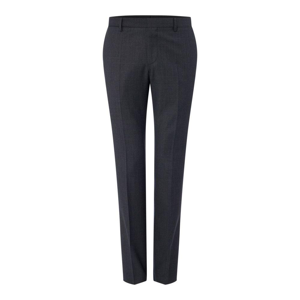 ヒューゴ ボス Hugo メンズ ボトムス・パンツ スラックス【Getlin Slim Micro Structure 3pc Suit Trousers】charcoal