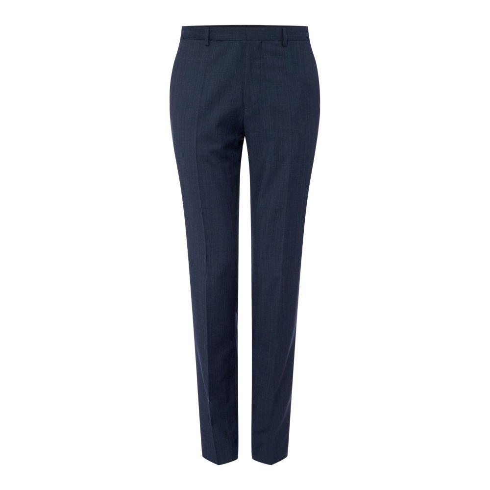 ヒューゴ ボス Hugo メンズ ボトムス・パンツ スラックス【Hets Extra Slim Textured 3pc Suit Trousers】dark blue