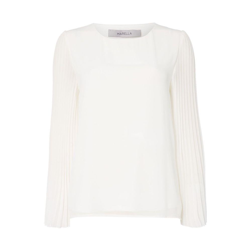 マレーラ Marella レディース トップス【Jajce Flared Sleeved Top】white