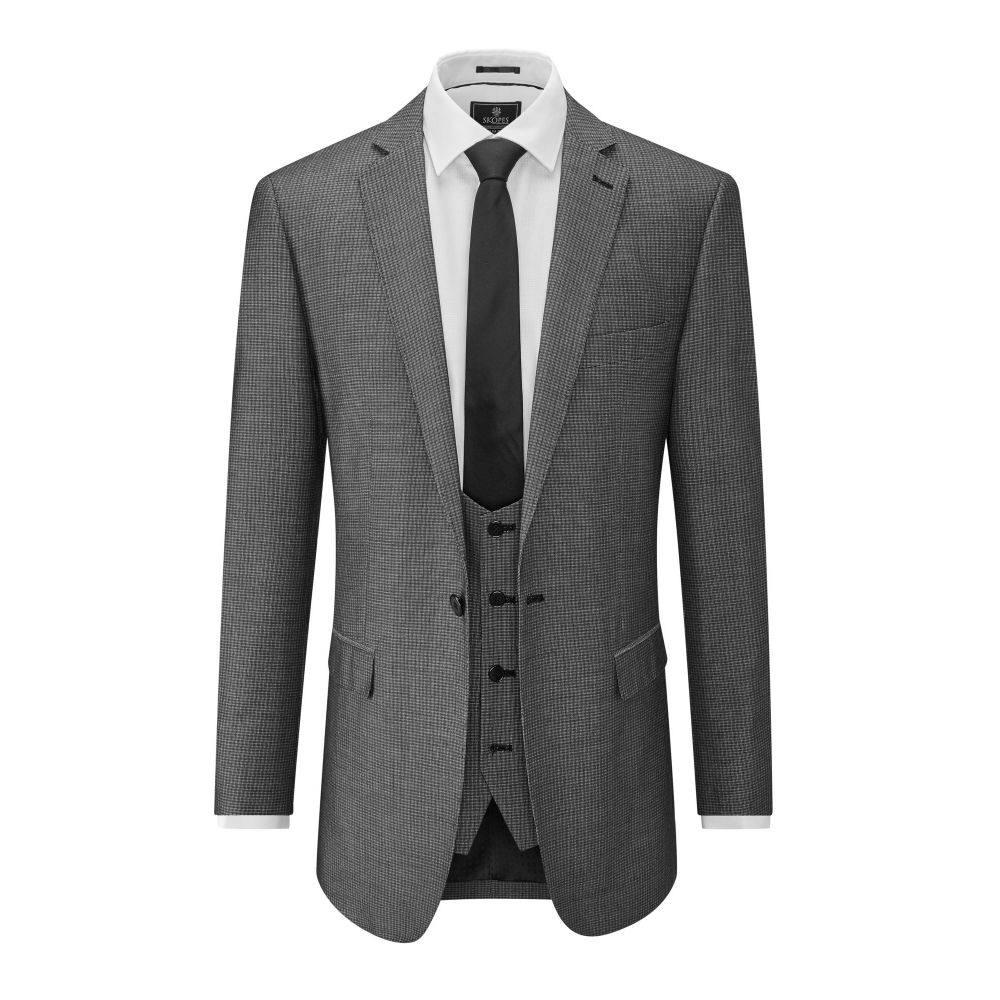 スコープス Skopes メンズ アウター スーツ・ジャケット【Orte Textured Suit Jacket】grey