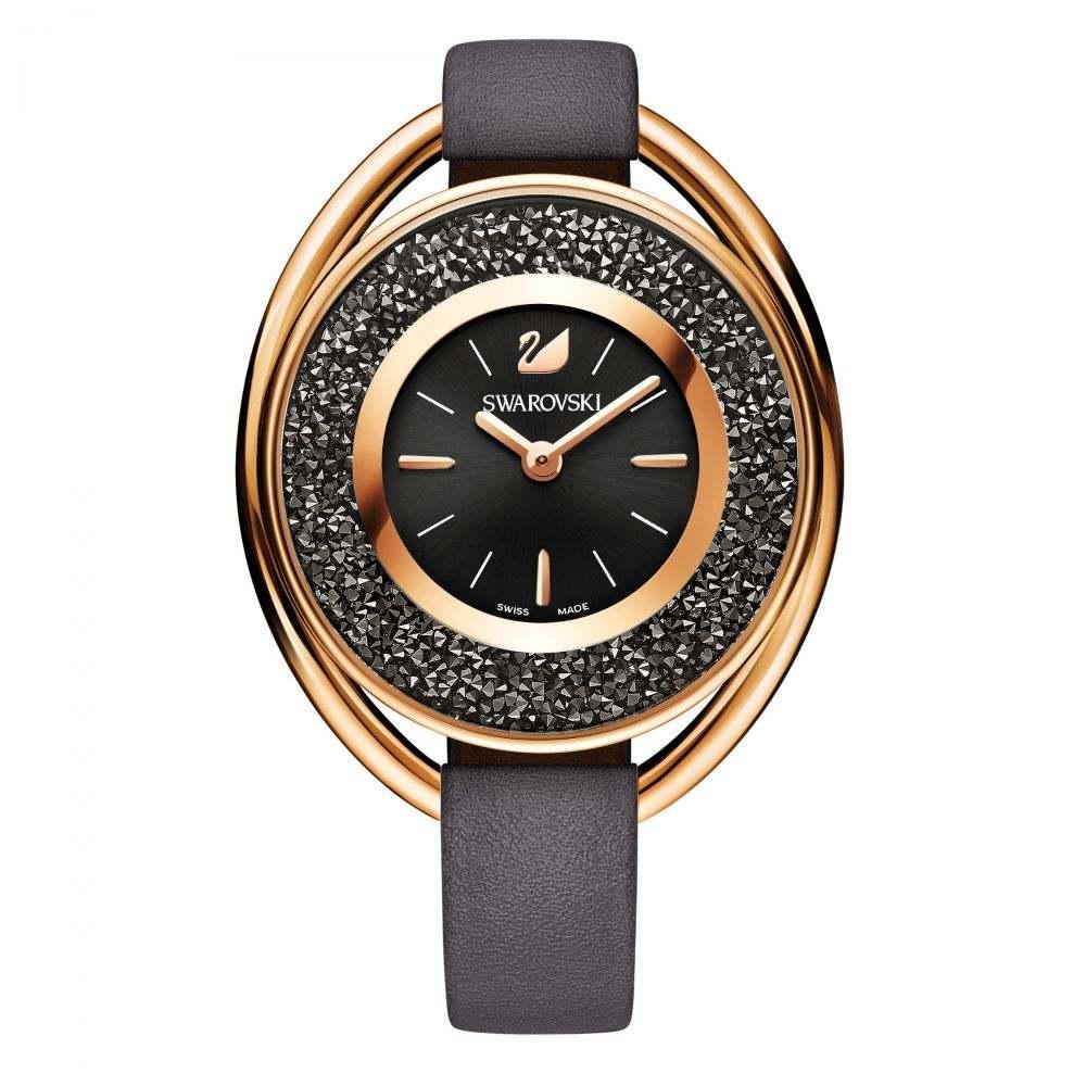 スワロフスキー Swarovski レディース 腕時計【Crystalline Oval】grey