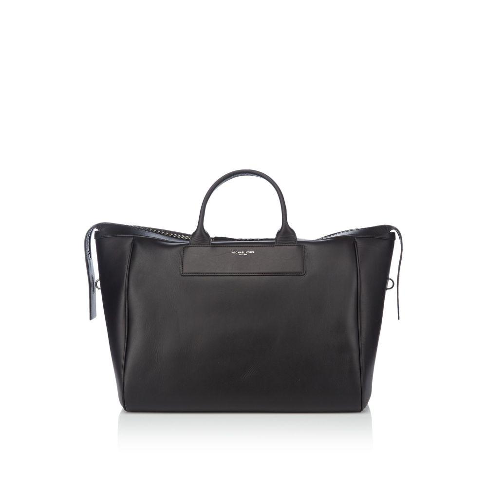 マイケル コース Michael Kors メンズ バッグ【Henry Weekender Leather Bag】black