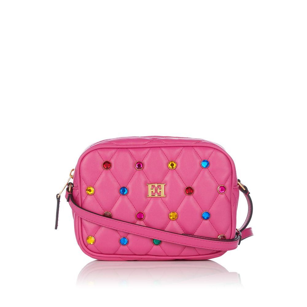 エスカーダ Escada レディース バッグ ハンドバッグ【Small Embellished Handbag】red