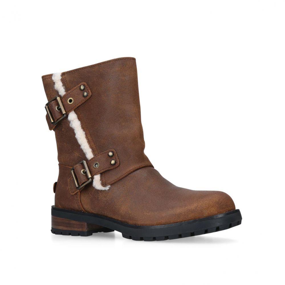 アグ UGG レディース シューズ・靴 ブーツ【Niels Ii Calf Boots】brown