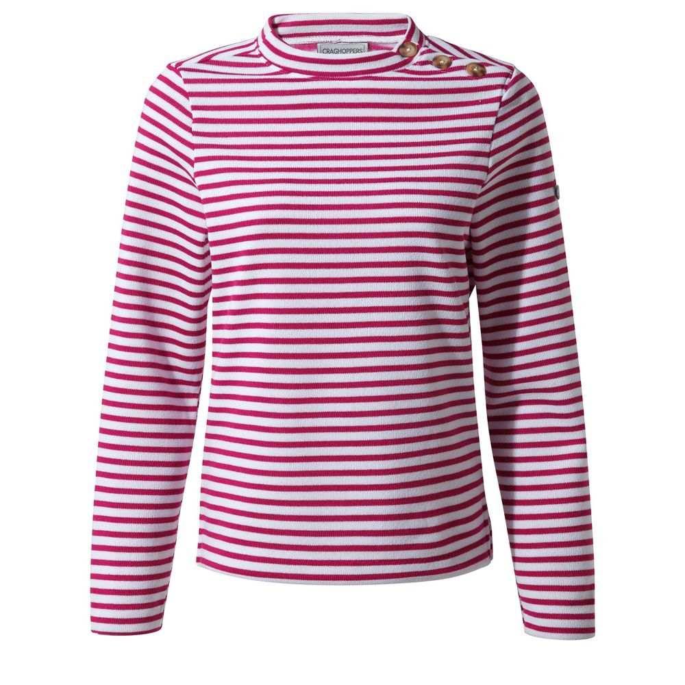 クラッグホッパーズ Craghoppers レディース トップス スウェット・トレーナー【Balmoral Crew Neck Sweatshirt】pink