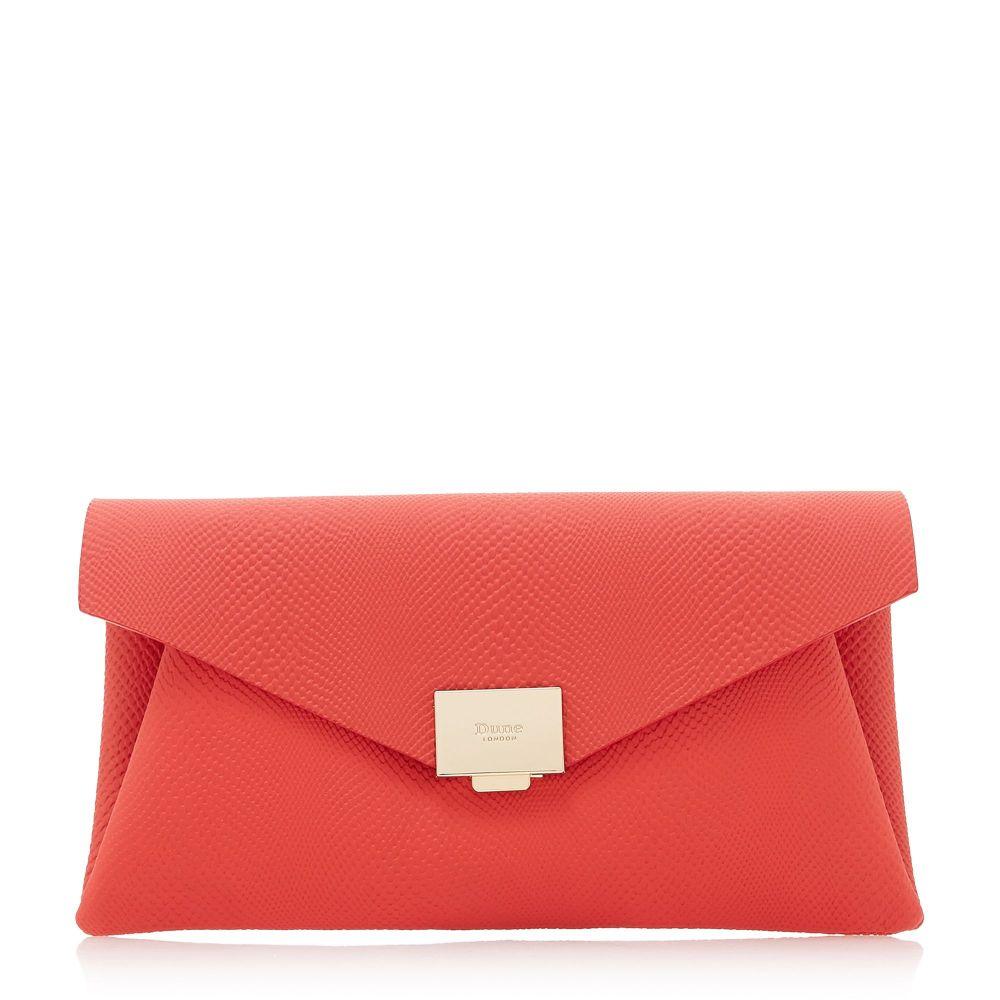 デューン デューン Dune レディース バッグ クラッチバッグ【Envela Envelope Bag】red Clutch Bag レディース】red, 真子質店:b7a87da3 --- sunward.msk.ru