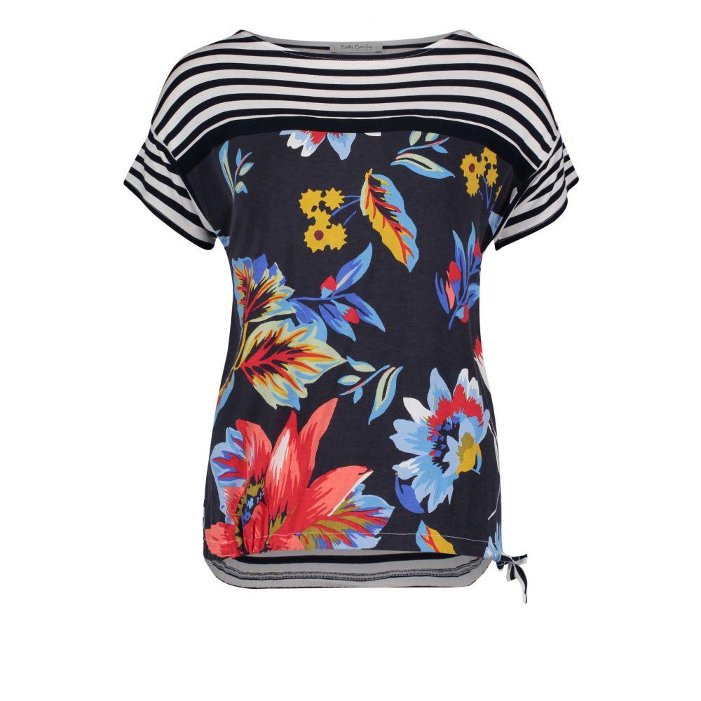 ベティー バークレイ Betty Barclay レディース トップス【Floral And Stripe Top】multi-coloured