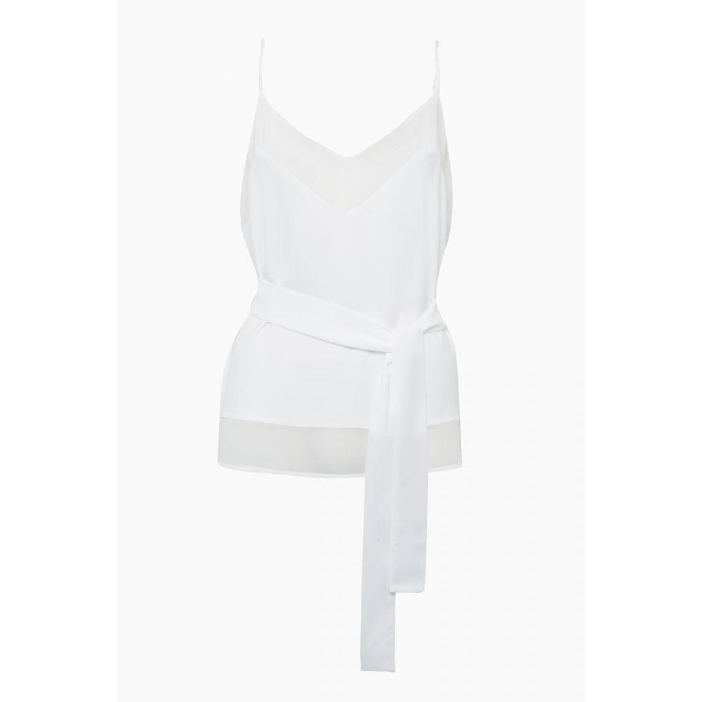 フレンチコネクション French Connection レディース インナー・下着 スリップ・キャミソール【Crepe Light Belted Camisole】white