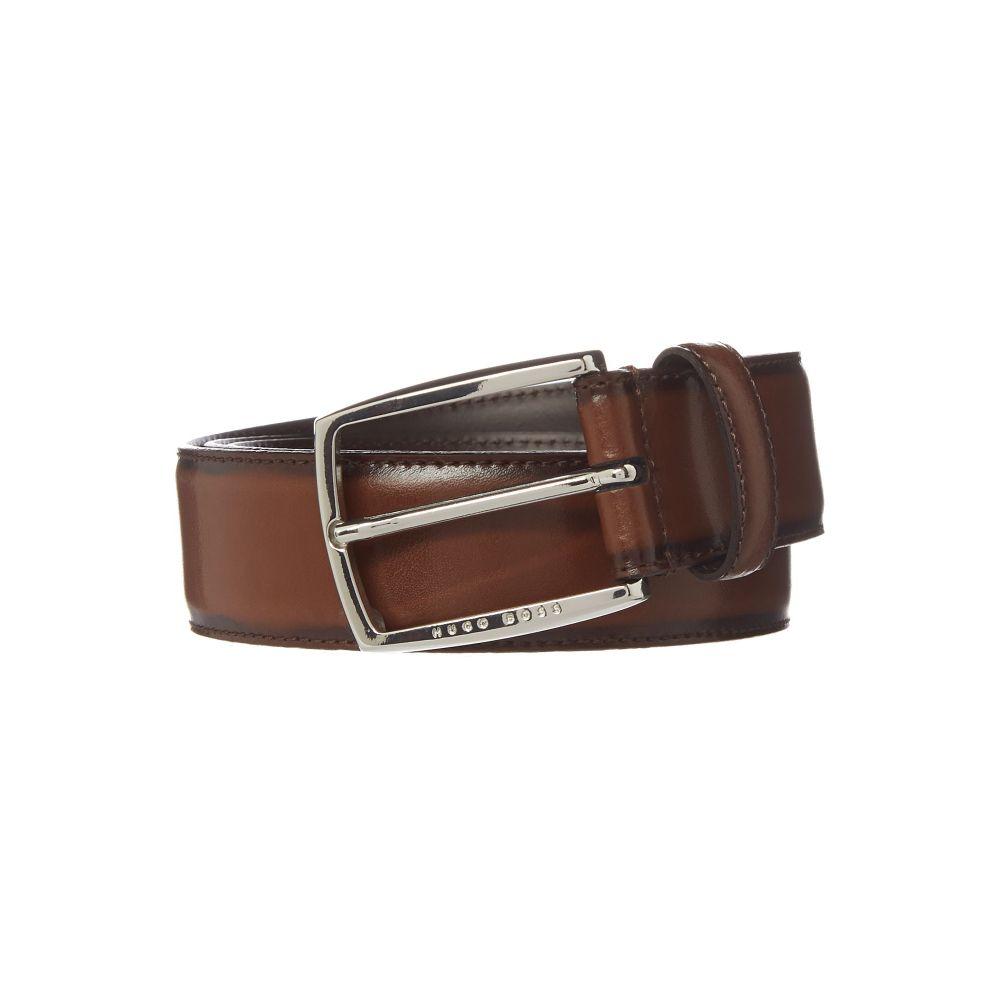 ヒューゴ ボス Hugo Boss メンズ ベルト【Bt Sittching Leather Belt】medium brown