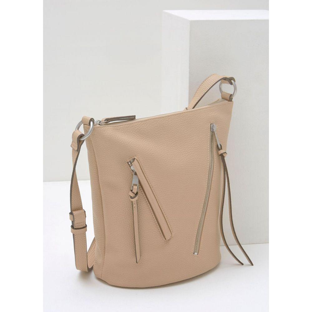ミルトン ベルベット Mint Velvet レディース バッグ【Eden Sand Zip Bucket Bag】neutral