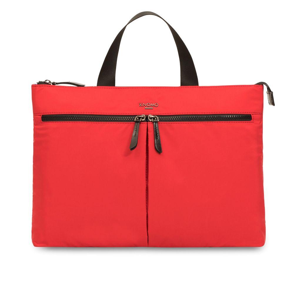 クノモ Knomo レディース バッグ パソコンバッグ【Dalston Copenhagen Red Lightweight Briefcase】red