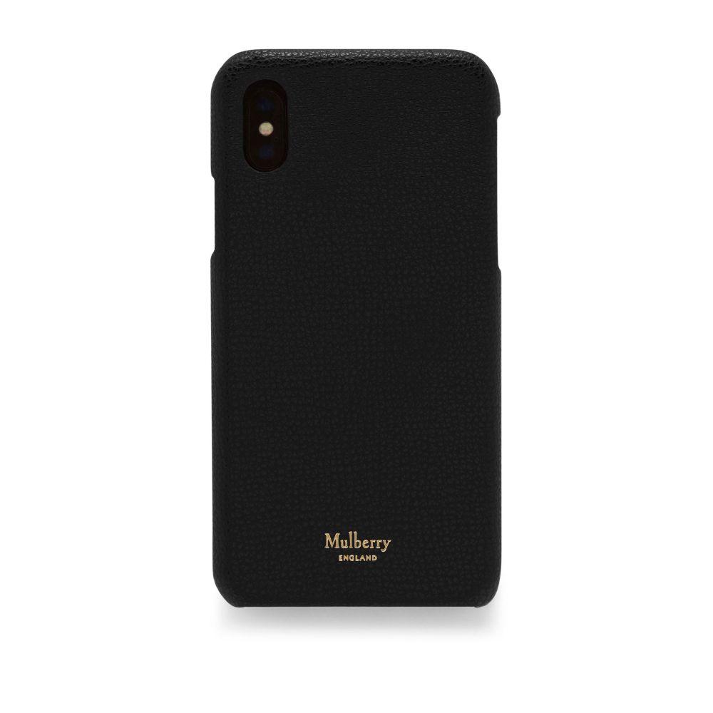 マルベリー Mulberry レディース iPhone (X)ケース【Iphone X/xs Cover】black