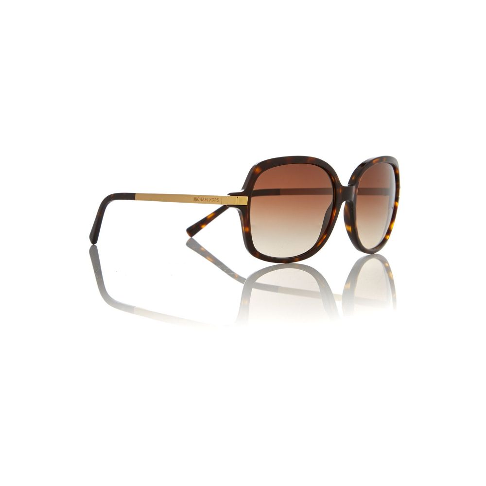 マイケル コース Michael Kors レディース メガネ・サングラス【Square Mk2024 Adrianna Ii Sunglasses】frame colour: gold