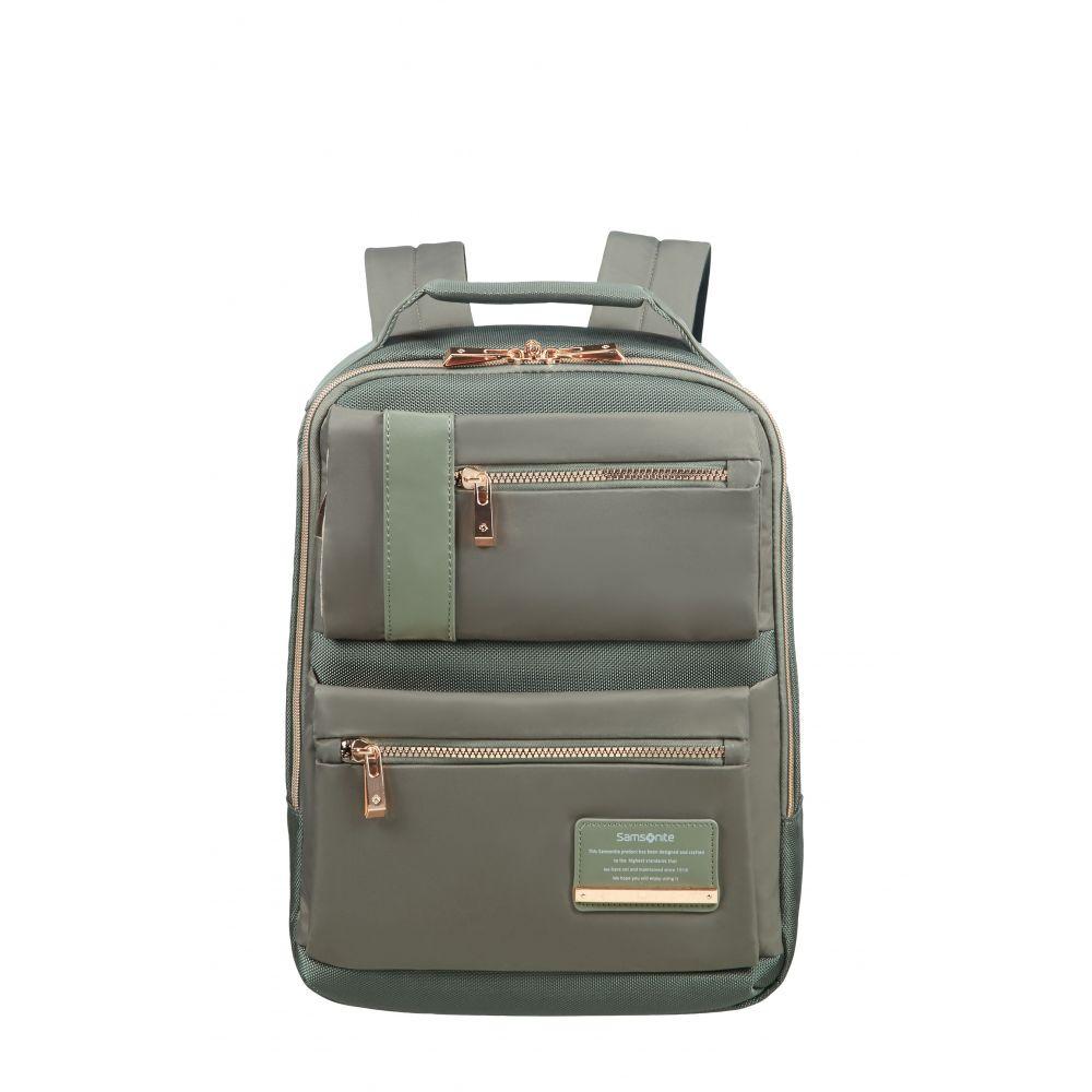 サムソナイト Samsonite ユニセックス バッグ パソコンバッグ【Openroad Lady Olive Green Slim Backpack 13.3】olive