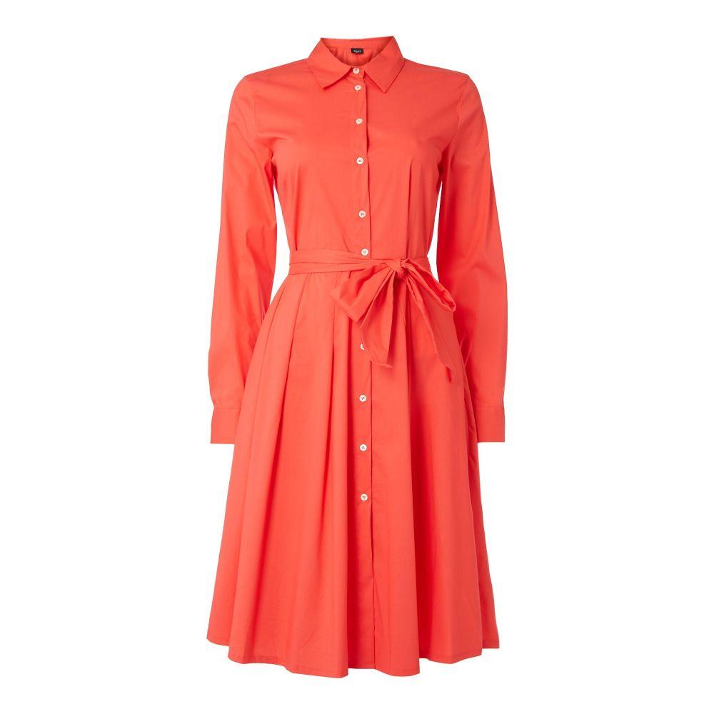 エメ Emme レディース ワンピース・ドレス ワンピース【Cicogna Fit And Flare Shirt Dress】coral