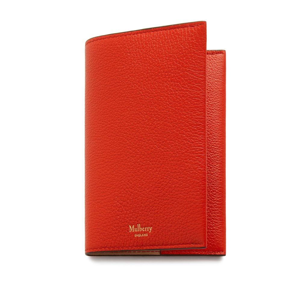 マルベリー Mulberry ユニセックス パスポートケース【Passport Cover】hibiscus