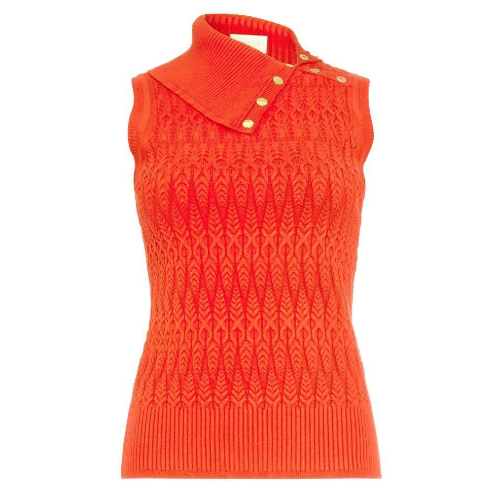 ダンセル Damsel in a Dress レディース トップス ニット・セーター【Amelie Cable Knit Top】red