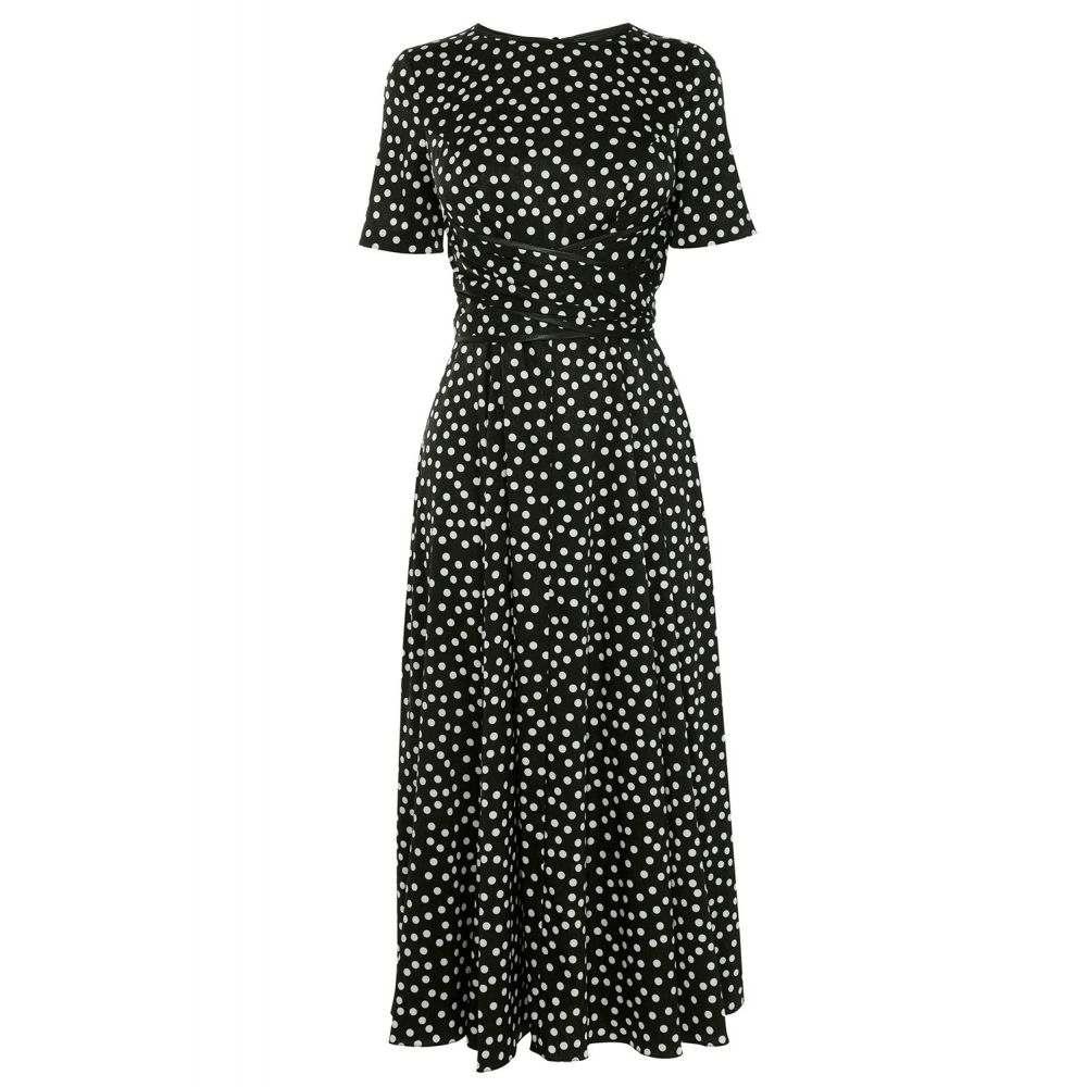 コースト Coast レディース ワンピース・ドレス ワンピース【Sarah Spot Dress】monochrome