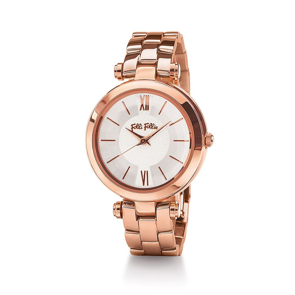 フォリフォリ Folli Follie レディース 腕時計【Lady Bubble Mini Rose Gold Watch】rose gold