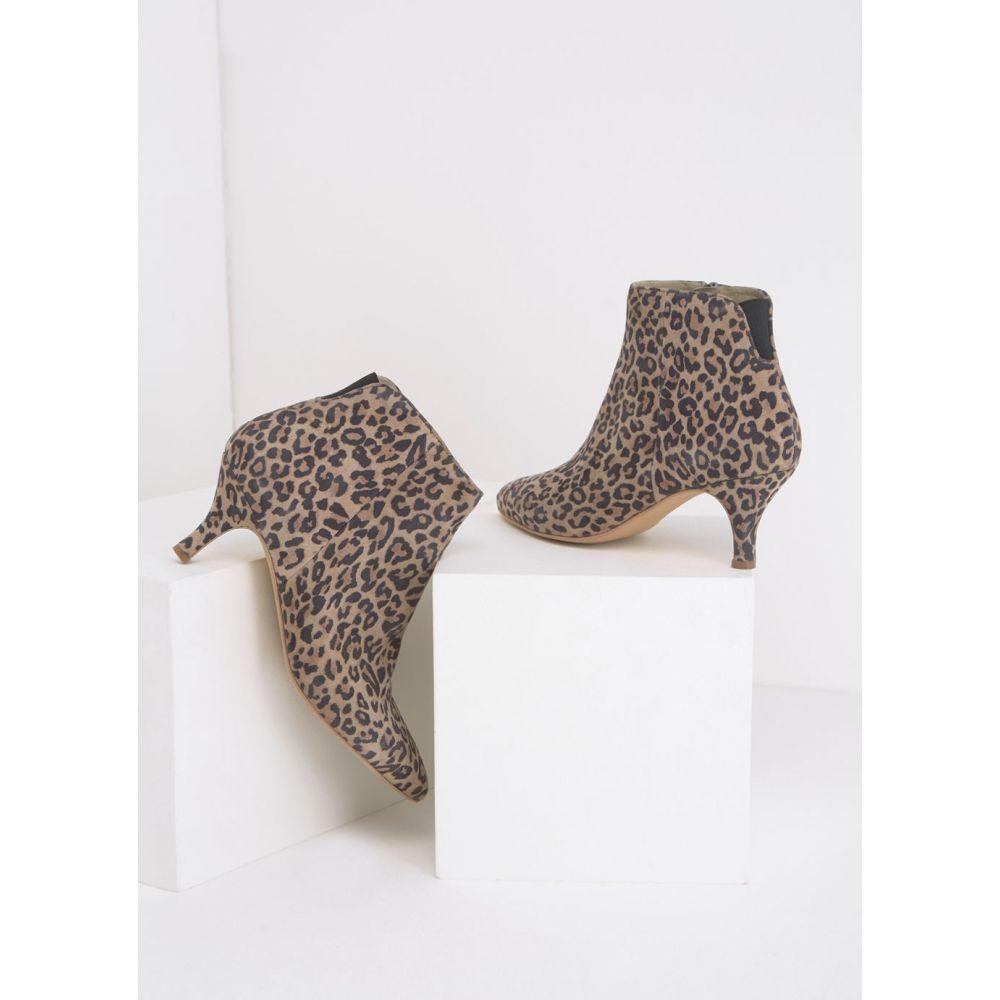ミルトン ベルベット Mint Velvet レディース シューズ・靴 ブーツ【Tommie Kitten Ankle Boot】multi-coloured