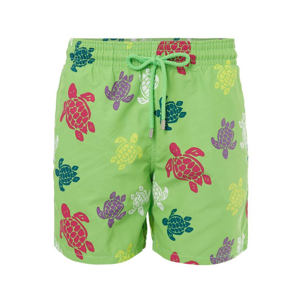 ヴィルブレクイン Vilebrequin メンズ 水着・ビーチウェア 海パン【Moorea Tortues Multicolores Trunk】green