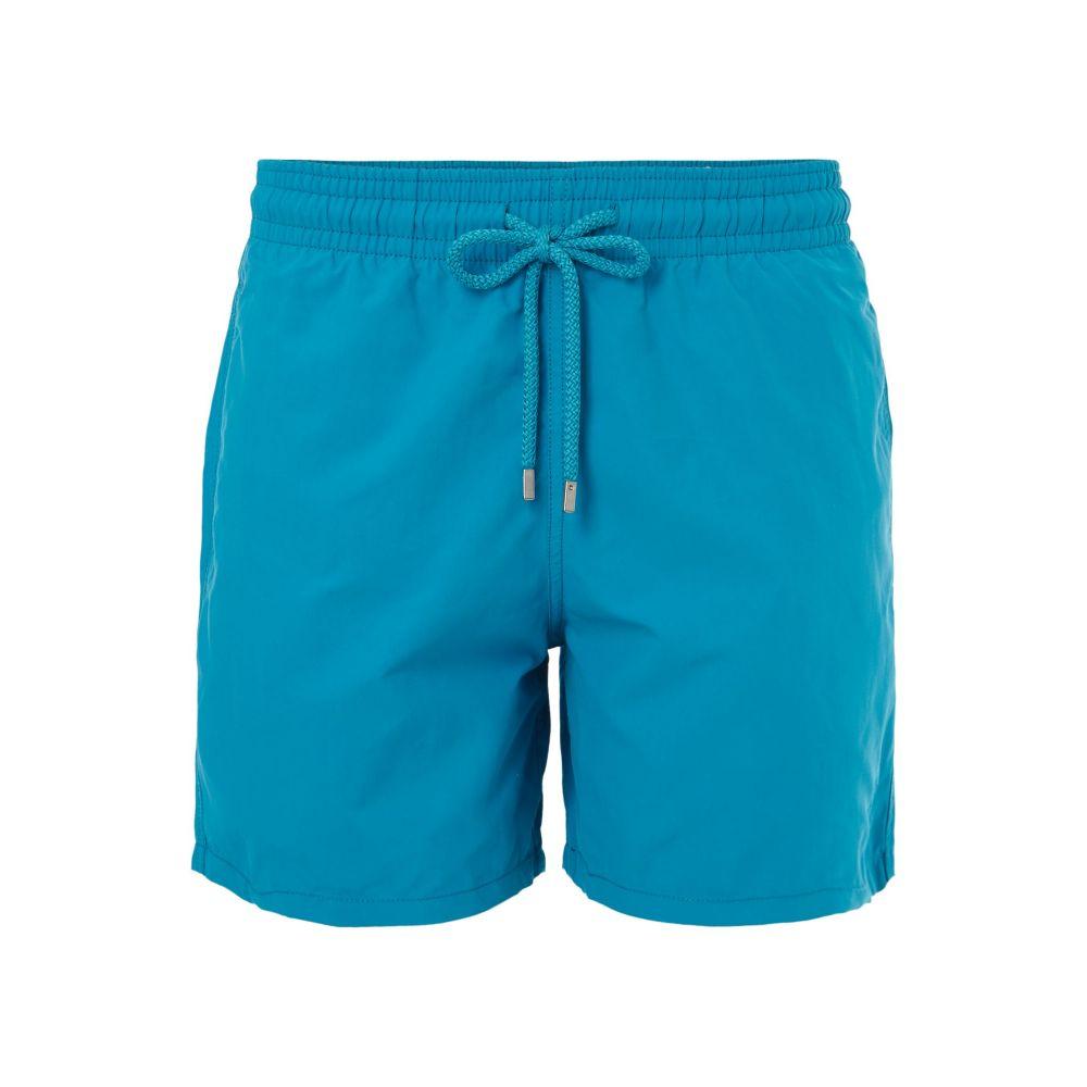 ヴィルブレクイン Vilebrequin メンズ 水着・ビーチウェア 海パン【Moorea Double Focus Water Reative Trunks】blue