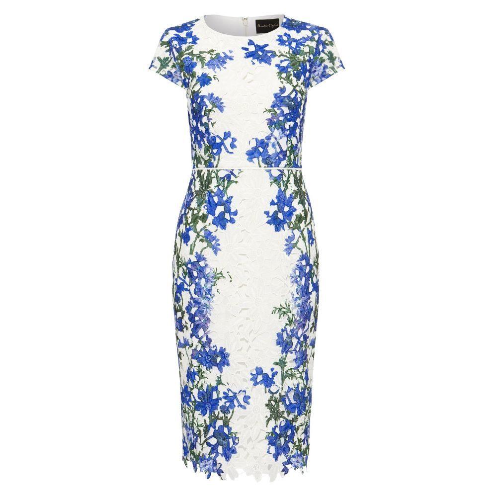 フェーズ エイト Phase Eight レディース ワンピース・ドレス ワンピース【Kyra Placement Dress】ivory multi