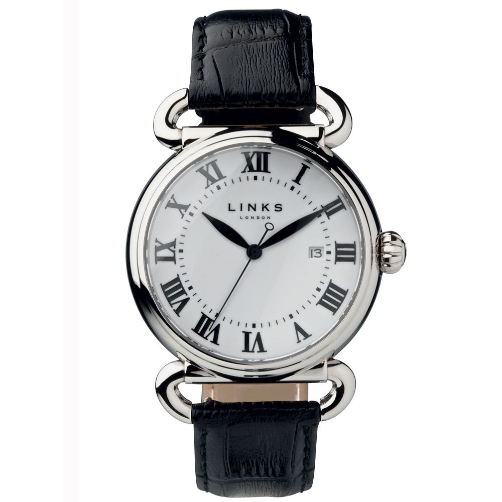 リンクス オブ ロンドン Links of London レディース 腕時計【Driver Large White Watch】white