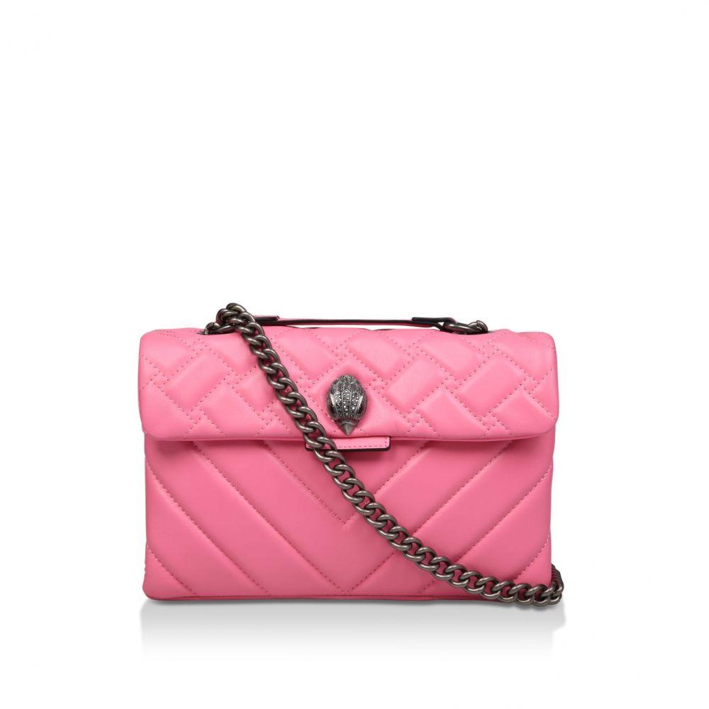 カート ジェイガー Kurt Geiger London レディース バッグ ショルダーバッグ【Leather Kensington X Body Bag】candy