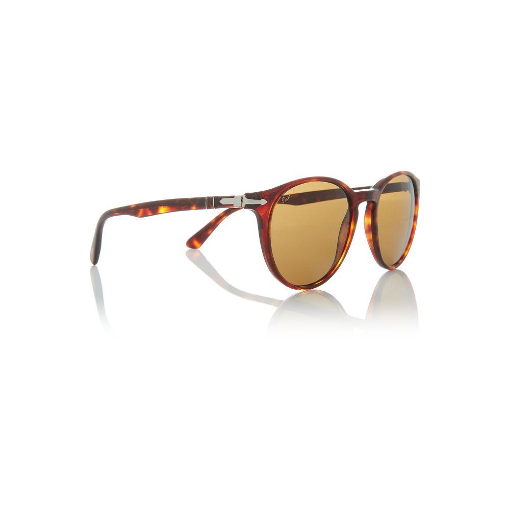 ペルソール Persol メンズ メガネ・サングラス【Havana Po3152s Phanto Sunglasses】frame colour: brown