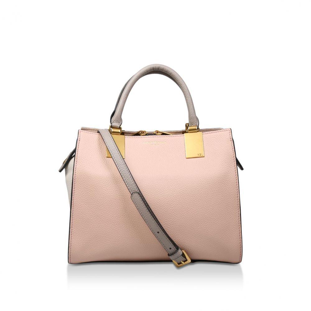 カート ジェイガー Kurt Geiger London レディース バッグ トートバッグ【Leather Emma Sm Tote】pink