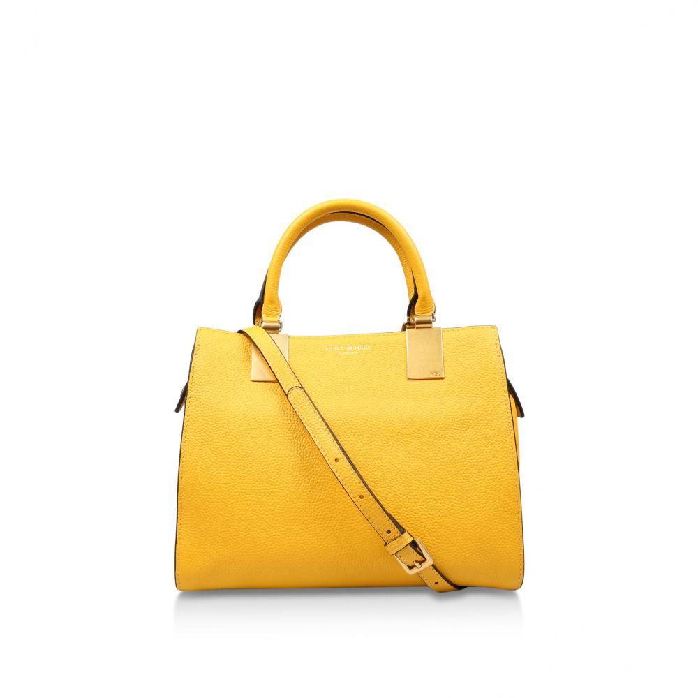 カート ジェイガー Kurt Geiger London レディース バッグ トートバッグ【Leather Emma Sm Tote】yellow