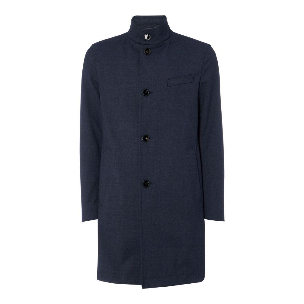 ヒューゴ ボス Hugo Boss メンズ アウター レインコート【Shanty Funnel Neck Raincoat】navy