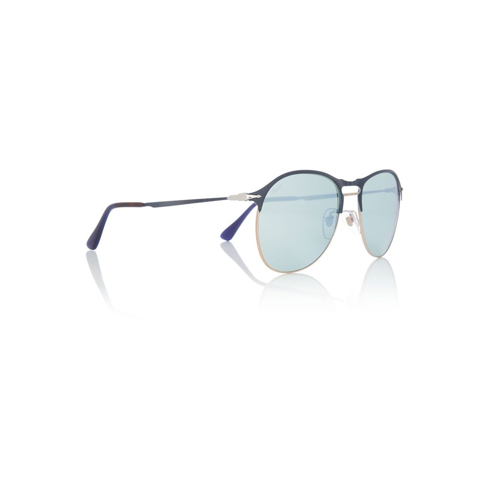 ペルソール Persol メンズ メガネ・サングラス【Black Bv8194b Pilot Sunglasses】frame colour: black