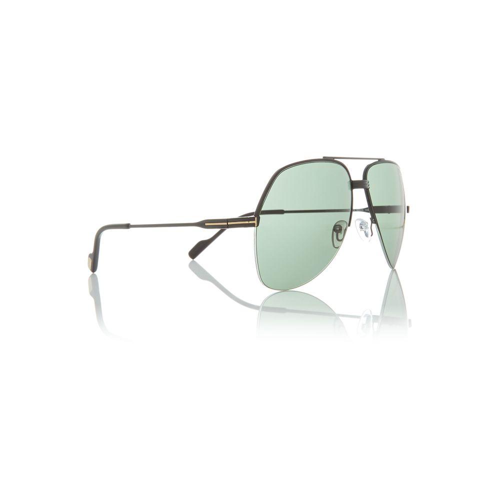 トム フォード Tom Ford Sunglasses メンズ メガネ・サングラス【Black Bv8194b Pilot Sunglasses】frame colour: black