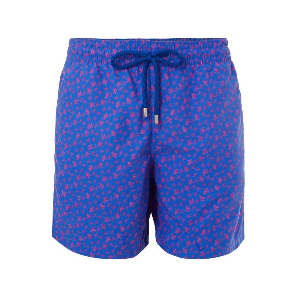 ヴィルブレクイン Vilebrequin メンズ 水着・ビーチウェア 海パン【Moorea Micro Ronde Des Tortues Trunks】dark blue