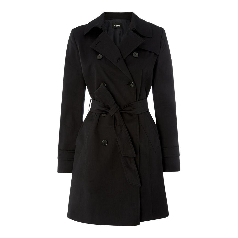 エメ Emme レディース アウター レインコート【Pamela Double Breasted Raincoat】navy