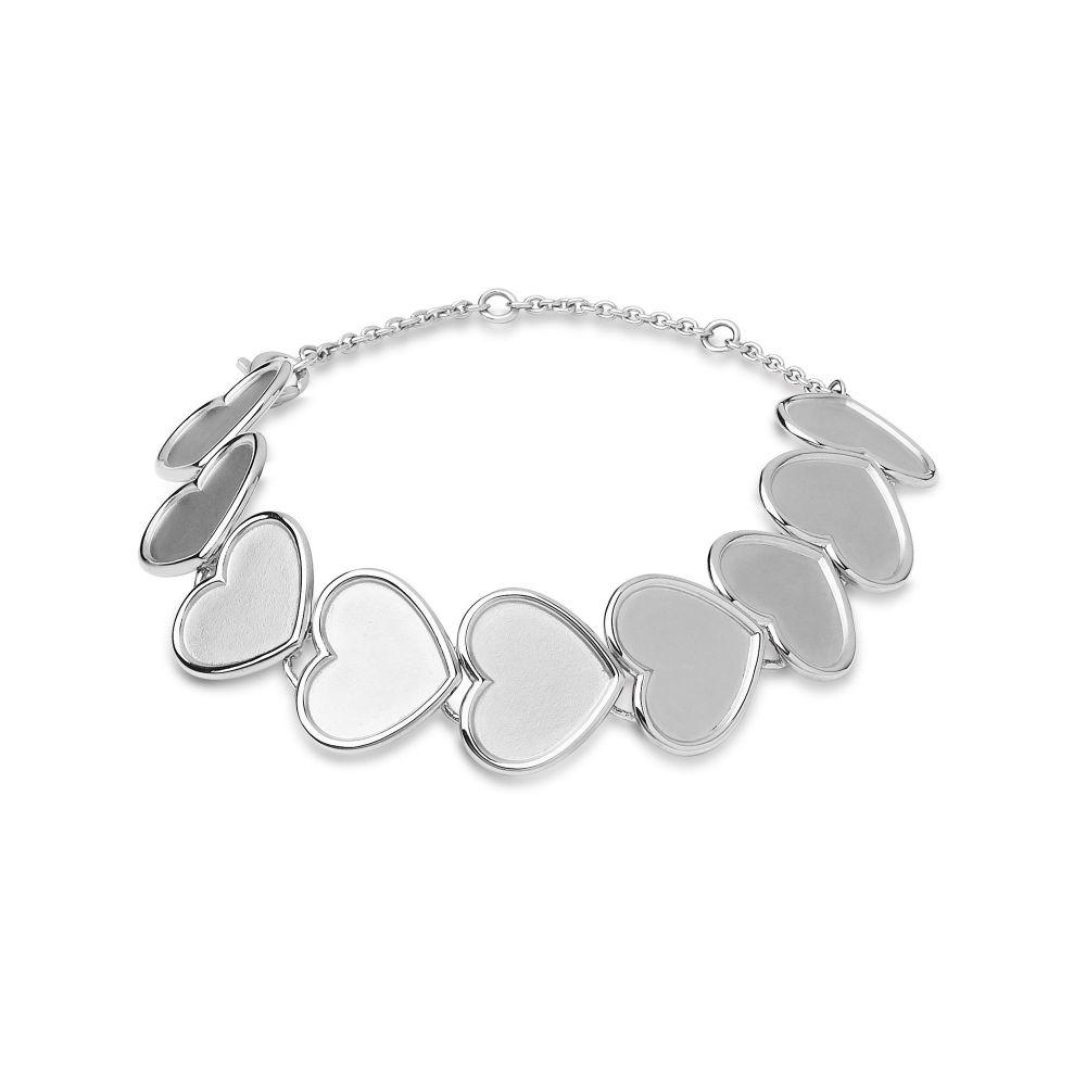 リンクス オブ ロンドン Links of London レディース ジュエリー・アクセサリー ブレスレット【Sterling Silver Medium Heart Bracelet】silver