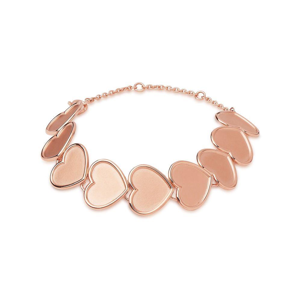 リンクス オブ ロンドン Links of London レディース ジュエリー・アクセサリー ブレスレット【Gold Vermeil Medium Heart Bracelet】gold