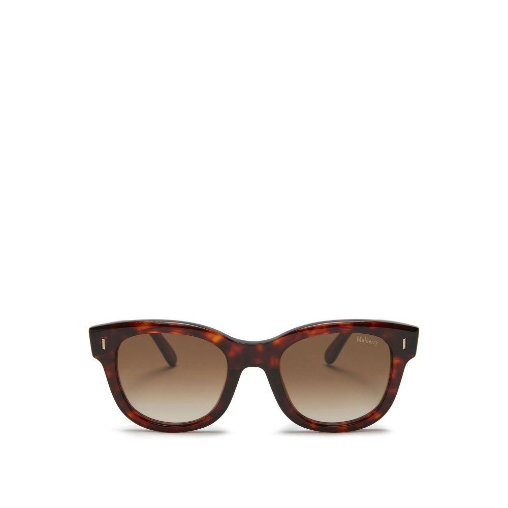 マルベリー Mulberry レディース メガネ・サングラス【Jane Acetate Sunglasses】frame colour: red havana