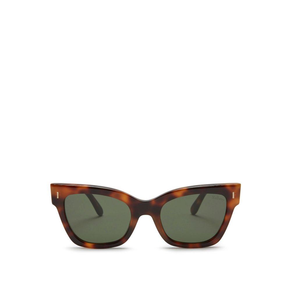 マルベリー Mulberry レディース メガネ・サングラス【Kate Acetate Sunglasses】frame colour: havana